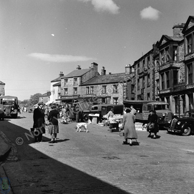 Hawes. The Market